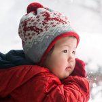 رعاية الطفل في الشتاء