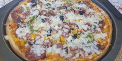 البيتزا اللذيذة
